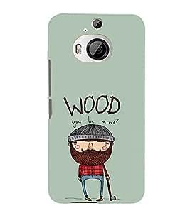 EPICCASE Woodbe Mine Mobile Back Case Cover For HTC One M9 Plus (Designer Case)