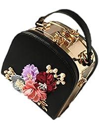 26f59964c2336 2018 Clip Blume Mode Frische Handtasche Schultertasche Messenger Bag Frau  Mini Weibliche Tasche