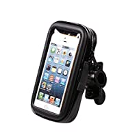 5.5 inch Bicycle Frame Bike Phone Mount Holder Waterproof Bag with Handlebar Bracket Mount Base for iphone6 plus-XX