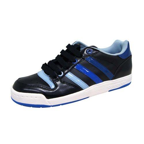 Adidas Midiru Court W Schuhe Sneaker Damen Leder schwarz/blau/weiss