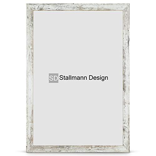 Stallmann Design Bilderrahmen New Modern 60x80 cm Vintage Rahmen Fuer Dina 4 und 60 andere Formate Fotorahmen Wechselrahmen aus Holz MDF mehrere Farben wählbar Frame für Foto oder Bilder