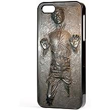 Productsave - Carcasa para iPhone 5 / 5s, diseño de Han Solo en carbonita, color negro