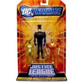 DC Universe Justice League Unlimited Fan Collection Action Figure 3Pack Cheetah, Shade & Lex Luthor