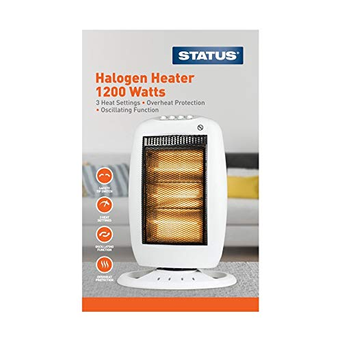 41mNLSKlz7L. SS500  - Status Halogen Heater, 1200 Watts