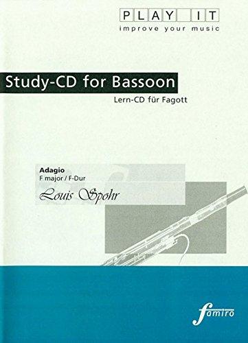 Study-CD for Fagott/Bassoon-Adagio D-Dur