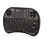 2.4GHz Mini Wireless Keyboard with Touchpad Mouse Combo Black