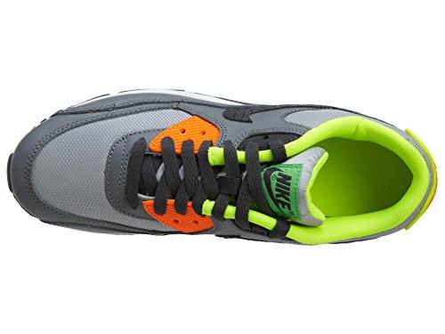 Nike Air Max 90 (Gs), Baskets Basses Garçon grau