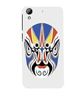 EPICCASE Beijing Opera Mask Mobile Back Case Cover For HTC Desire 728 (Designer Case)