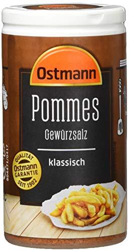 Ostmann Pommes Gewürzsalz klassisch Pommesgewürz Bratkartoffelgewürz, spezielles Pommessalz, für sagenhaft leckere Pommes Frites (1x 70g)