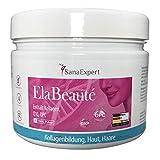 SanaExpert ElaBeauté, Colágeno en Polvo Anti-Edad con Q10, OPC, Zinc, Biotina y...