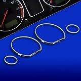 untr10vw01–Chromé tachoringe Convient pour VW Golf3, VENTO, 6N, JETTA 3,