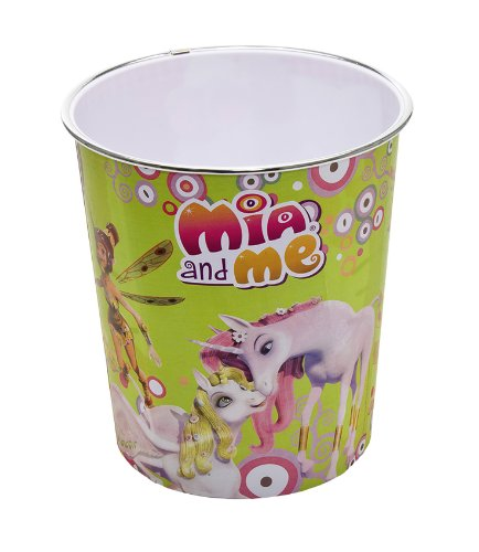 Joy Toy 118084 - Mia and Me Abfalleimer, 21 x 21 x 23 cm