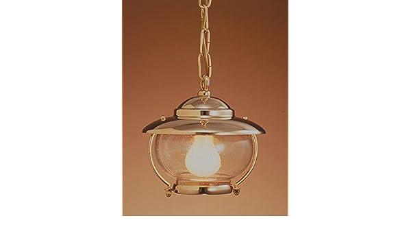 Plafoniere Ottone Stile Nautico : Art b lt lampada a sospensione in stile marina ottone