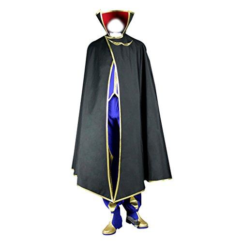 Zero Geass Kostüm Code - Holysteed Code Geass Lelouch Of The Rebellion Cosplay Costume Zero Set XX-Large