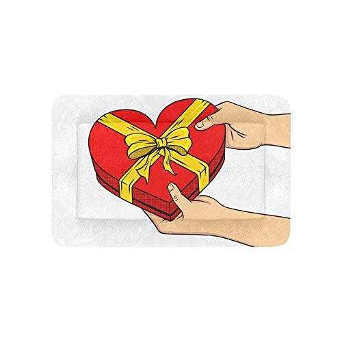 Herzform Box Geschenke Liebe Jubiläum Extra Große Individuell Bedruckte Bettwäsche Weiche Hundebett Für Welpen Und Katzen Möbel Matte Höhlenauflage Kissenbezug Innen Geschenk Lieferanten 36 X 23 Zoll
