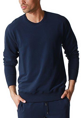 "Mey Loungewear ""Mey Club Coll."" Herren Homewear Shirts 23540 Yacht Blue"