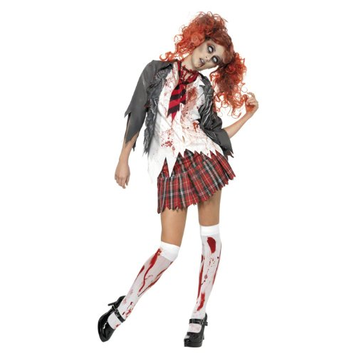 amen-Kostüm Zombie School-Girl Gr. M ()