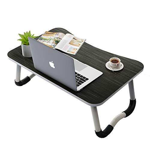 SqsYqz Office Products Home Décor Products Computertisch Für Kleine Räume Kinderschreibtisch Billig Student Desk Tragbarer Klappcomputertisch,blackandsilver