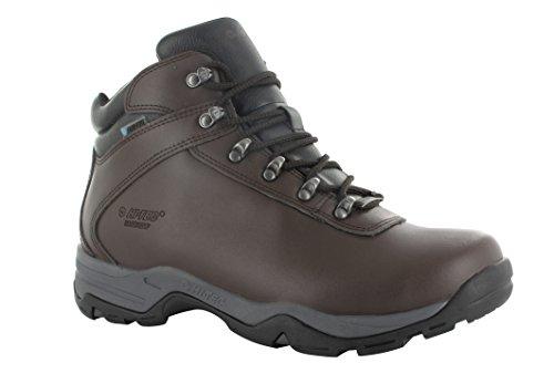 Hi-Tec Eurotrek III Wasserdicht Walking/Wandern/Schuhe in Verbindung mit dem National Trust schokoladenbraun