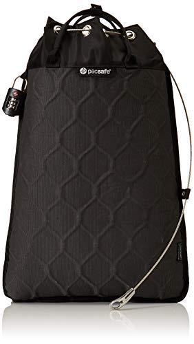 Pacsafe Travelsafe 12L - Mobiler Safe mit TSA-Zahlen Schloß, Trage-Tasche mit Anti-Diebstahl Technologie, 12 Liter Volumen, Anthrazit/Char...