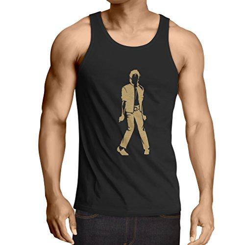 lepni.me Vest I Love M J - Vintage, Musically Shirt, Band Merch
