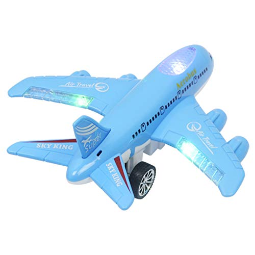 Remote Control Airplane Electric Light Music Plane Outdoor Toy Gift USB Charge (Remote Control Airplane Kit)