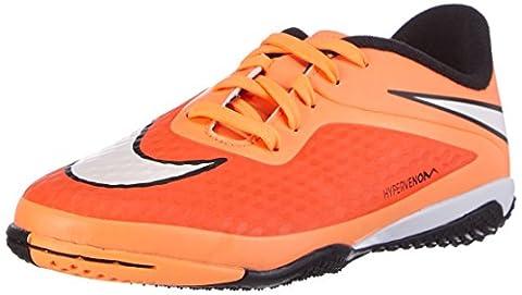 Nike Jr Hypervenom IC, Jungen Fußballschuhe, Orange (hyper crimson-white-black-atomic orange 800), 36.5 (Mercurial Vapor Ball)
