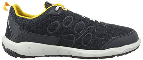 Jack Wolfskin Herren Monterey Ride Low M Outdoor Fitnessschuhe Schwarz (burly yellow)