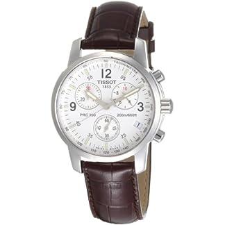 Tissot T17151632 – Reloj de Caballero de Cuarzo, Correa de Piel Color marrón