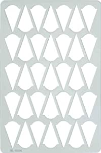 Acrylic Chocolate Sheet - Cone