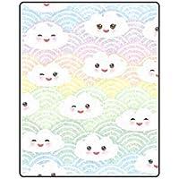 Enhusk Japan Kawaii - Manta de Forro Polar para sofá y Cama, diseño de Dibujos