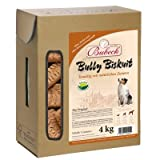 Bubeck Bully Hunde Biskuit Hundekuchen Zahnpflege 4 kg
