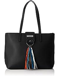 Damen Ker01-Tz-Black Einkaufstasche Les Tropeziennes