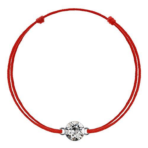 d Glücksarmband Rote Schnur Damen Herren Kinder Geschenk (Armbänder Rot)