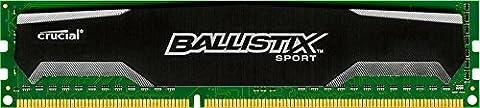 Ballistix Sport 4 GB Single DDR3 1600 MT/s (PC3-12800) UDIMM