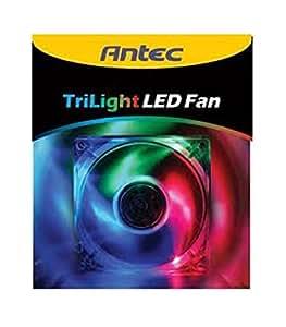 Antec Gehäuselüfter 80X80X25.4mm rote LEDs