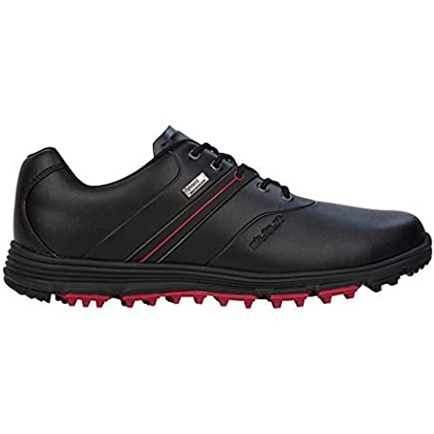 Stuburt 2017 Vapour eVent Waterproof Spikeless Lightweight Mens Golf Shoes Black 12UK