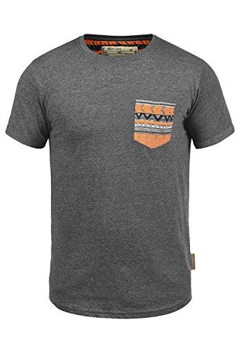 INDICODE Paxton T-Shirt, Größe:3XL;Farbe:Grey Mix (914) (Neue T-shirt Xxx-large)
