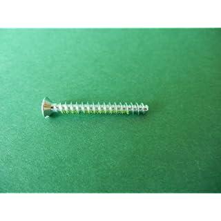 100 Stück Geräteschrauben Dosenschrauben 3,2 mm Ø Länge 25 mm
