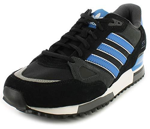 adidas Original Zx 750, Herren Turnschuh - Herren, Core Blk/B.Vogel/weiß, 7 UK - Adidas Originals Turnschuhe