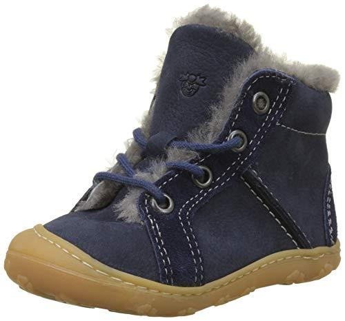 RICOSTA Unisex Baby Lenny Sneaker, Blau (See 185), 23 EU