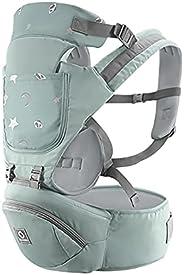 حامل أطفال 3 في 1 متعدد الوظائف مع مقعد الورك القطني دعم الخصر مقعد للأطفال بعمر 0-36 شهرًا تصميم مريح قابل لل