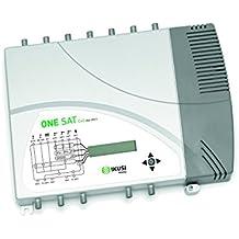 Central programable de 10 filtros con 7 entradas y ganancia de 40/60 dB