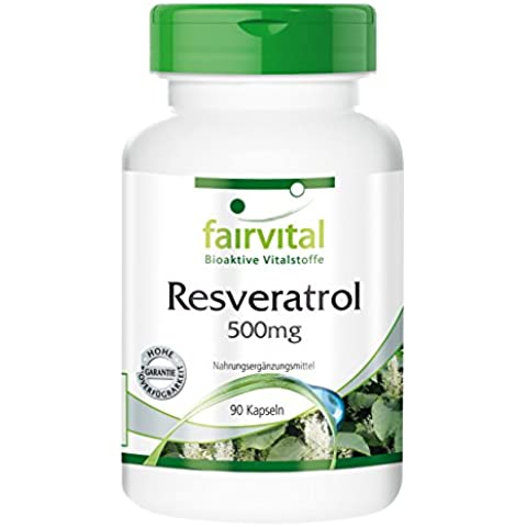 Fairvital - Resveratrolo - 90 capsule - 500 mg