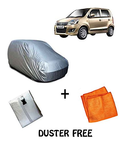 Autowheel Car Body Cover For New Maruti Wagon R (Red & Blue)  available at amazon for Rs.559