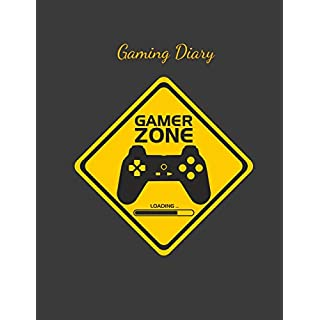 Gaming Diary: A Gamer's Journal Perfect for Keeping Track of Epic Wins and Adventures