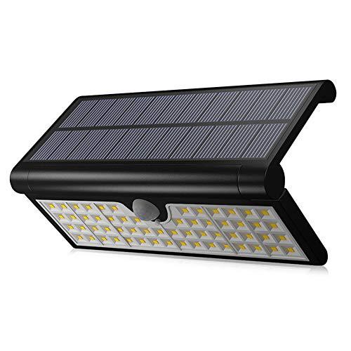 LED Solarleuchte dreieckig faltbar Wandleuchte Outdoor Hof Garten Wasserdicht Beleuchtung Street Light Human Body Sensing Wall Light -