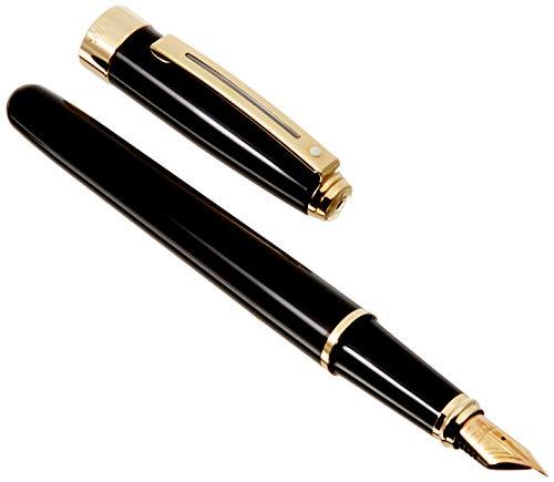 Sheaffer Prelude pluma estilográfica SC 14K F pre9173pn-f negro lacado GT