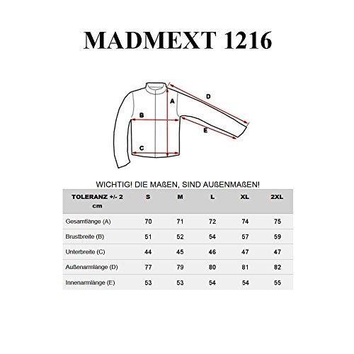 BOLF Herrenpullover Sweatshirt Sweatjacke Langarm Pullover MADMEXT 1226 Dunkelblau_1216
