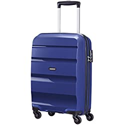 American Tourister Bon Air Spinner S Strict Equipaje de cabina, 55 cm, 30 L, Azul (Azul)